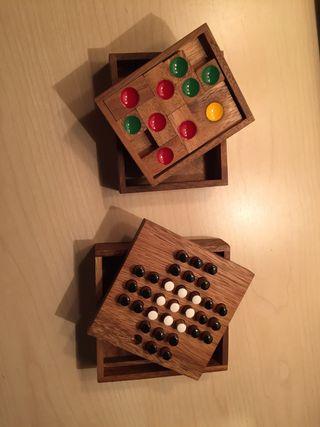 Juegos de madera clásicos.