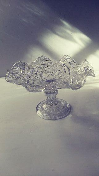 frutero o centro de mesa cristal