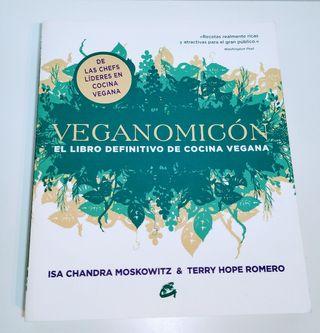 Libro Cocina vegana Veganomicón