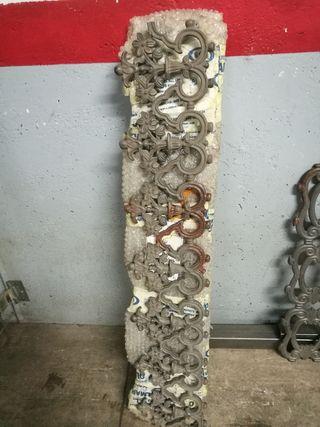 4 adornos para rejas y puertas de forja