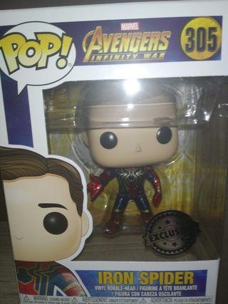 Iron Spider Spiderman funko pop