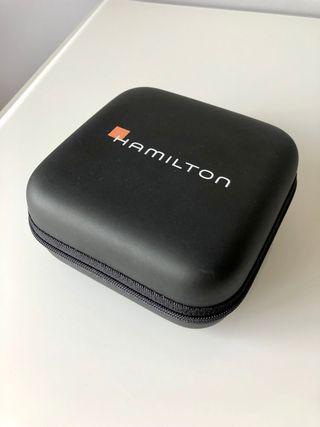 Estuche viaje reloj Hamilton original