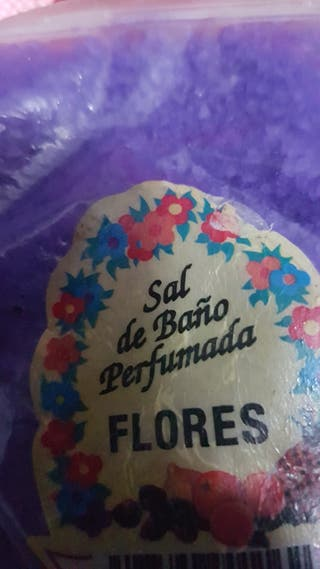 sales de baño epson perfumadas