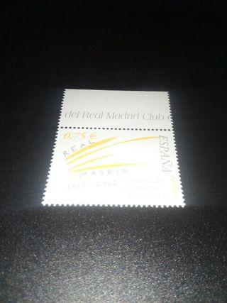 sello centenario real madrid