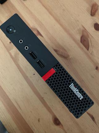 Mini ordenador Lenovo nuevo 18cm x 18cm cpu