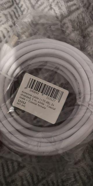 Cable de antena 5 metros