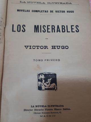 los miserables de Víctor hugo