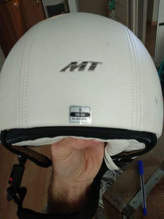 casco moto MT retro
