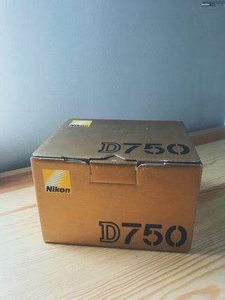 Appareil Reflex Nikon D750