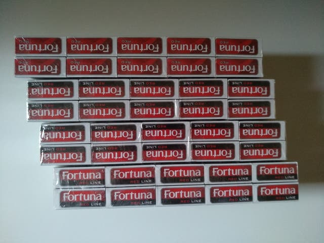 Tobacco Fortuna packs
