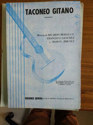 Partituras flamencas