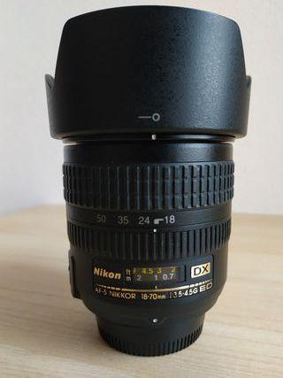 Objetivo Nikon AF-S Nikkor 18-70 DX 3.5 - 4.5G ED