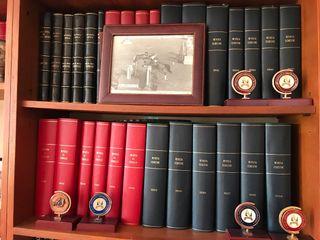 Colección de libros de caballos de carreras ingles