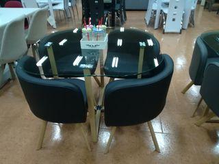 Mesa con 4 sillas