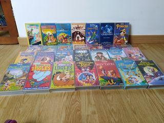Clasicos Disney en VHS