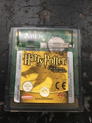 Harry Potter y la Camara secreta game Boy Color