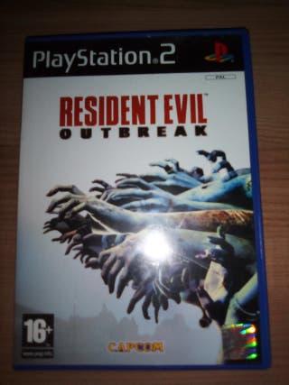 Juego ps2 Resident evil outbreak