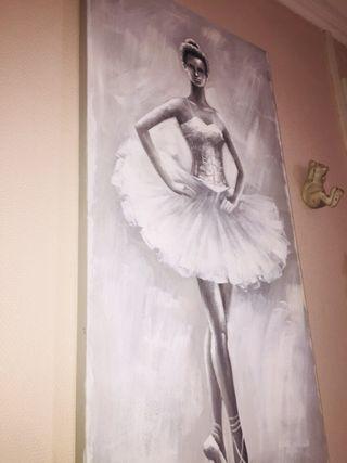 Toile danseuse
