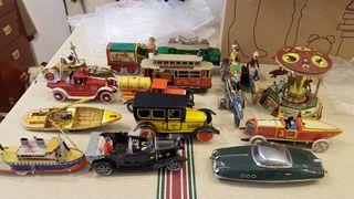 coleccion juguetes de paya