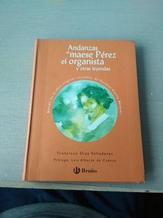 libro de las andanzas de Maese Pérez el organista