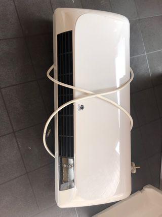 Calefactor y aire frío de pared