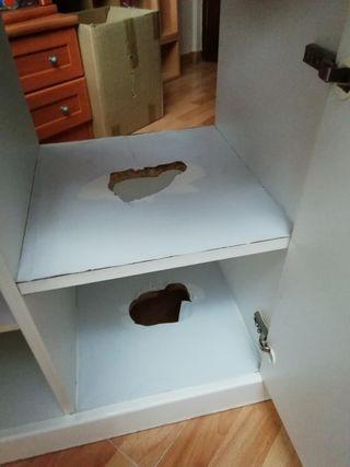 Mueble lavabo + espejo