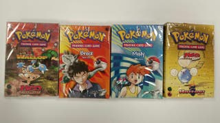 Lote Mazos y Barajas Precintadas Pokemon