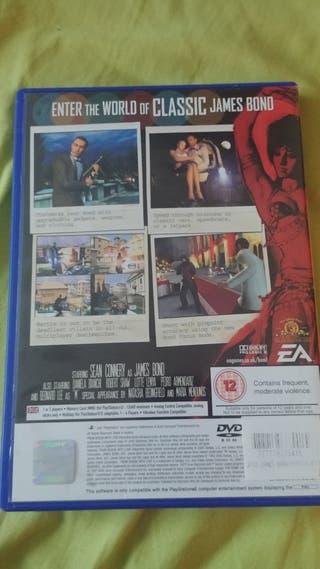 007 rusia whith love para ps2 pal uk