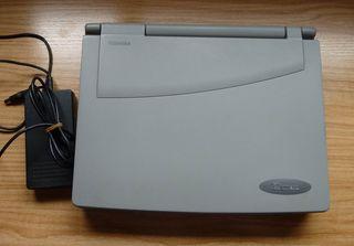 CLASICO Portátil Toshiba Tecra 550CDT P1 266 MHz