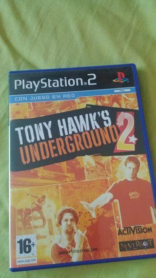 Tony hawk's underground 2 para Ps2