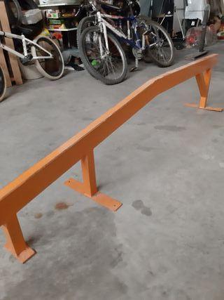 Barandilla skate 1.85 cm largo