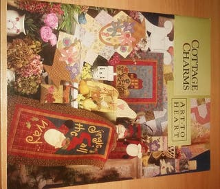 Libro Patchwork. Cottage Charms. Art to Heart.