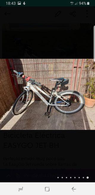 Bicicleta eléctrica Easygo jet BH