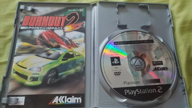 Burnout 2 point impact para Ps2