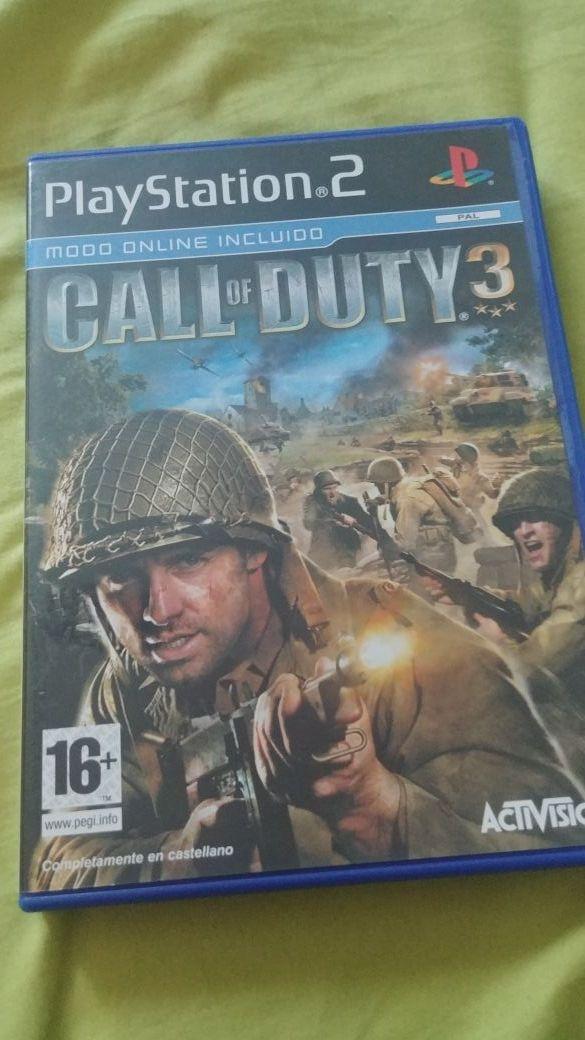 call of duty 3 para ps2