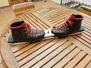Botas de esquí vintage
