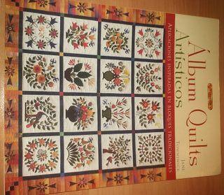 Libro de Patchwork. Album Quilts Artísticos. NUEVO
