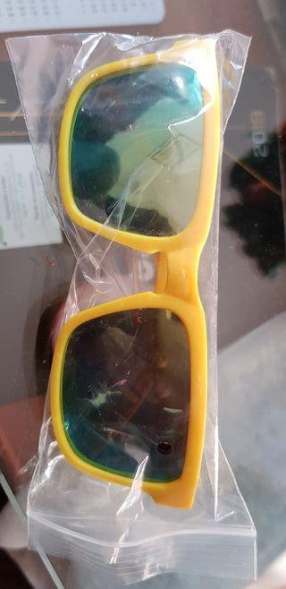 gafas espejo estrenar verdes
