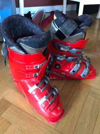 Botas de esquí júnior talla 24