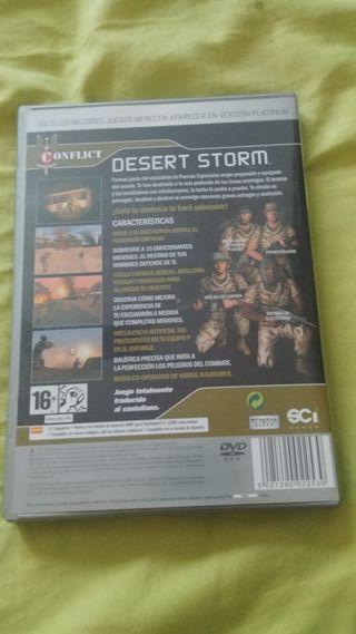 Conflict desert storm para Ps2