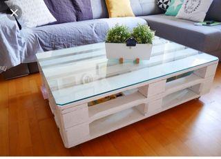 mesa con pales