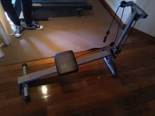 Banco de ejercicios pesas