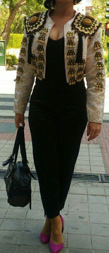 Chaqueta torera Traje de Flamenca Vestido Gitana