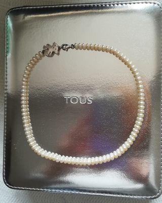 TOUS Collar perlas cultivadas