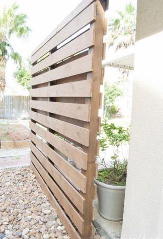 biombo exterior madera palets