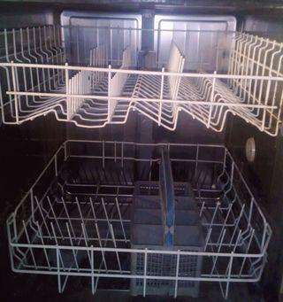 Lavavajillas, lavadora y secadora