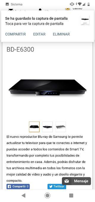 blu-ray 3d Samsung BD-E6300