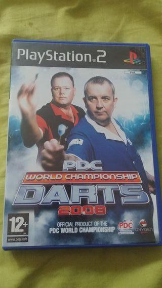 PDC world championship darts 2008 para ps2