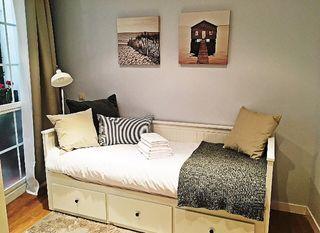 Cama, sofá, nordico Hemnes Ikea