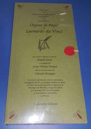 Concierto en el extraordinario órgano de papel